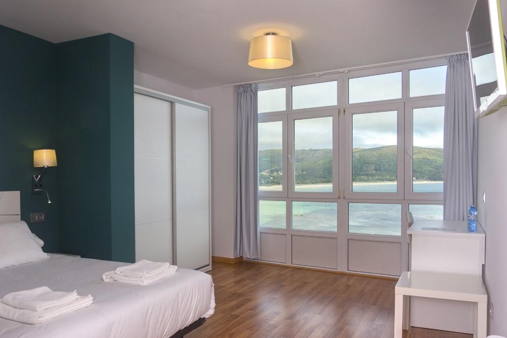 Habitación con vistas al mar en Fisterra